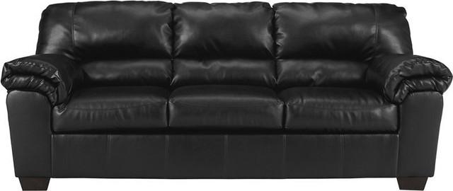 Flash Furniture Signature Design By Ashley Commando Sofa In Black