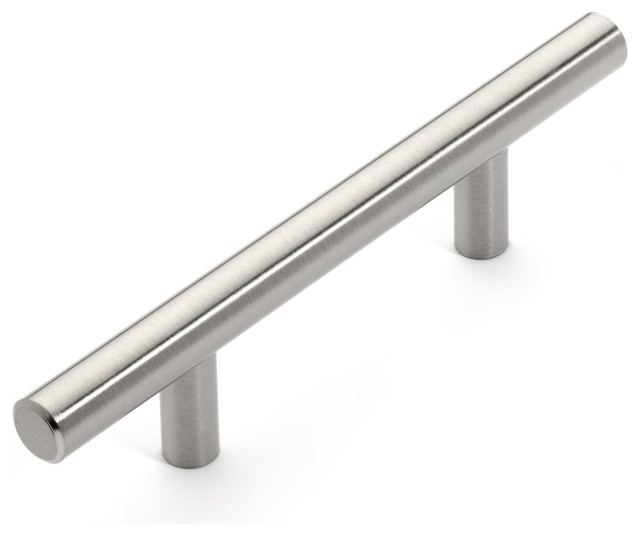 Dynasty Hardware Dynasty Hardware P-1001-SN European Bar Style Cabinet Pull 5-3/4, 10-Pack ...