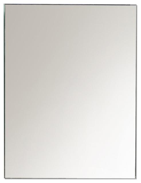 Eviva Lazy 20 Wall Mirror Medicine Cabinet With No Lights Modern Medicine Cabinets By Bathroom Bazzar