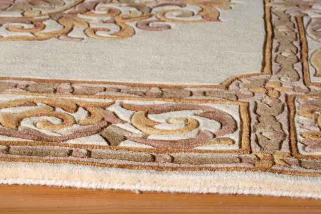 Maison Hand-Tufted Rug, Ivory, 8&x27;x11&x27;.