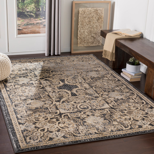 Rosamond Bohemian Farmhouse Area Rug Contemporary Area Rugs