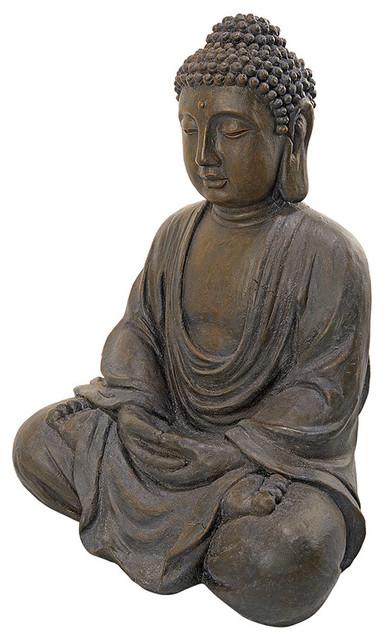 Meditative Buddha of the Grand Temple MediumSized Garden Statue
