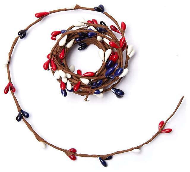 Americana Pip Berry Rope Garland.
