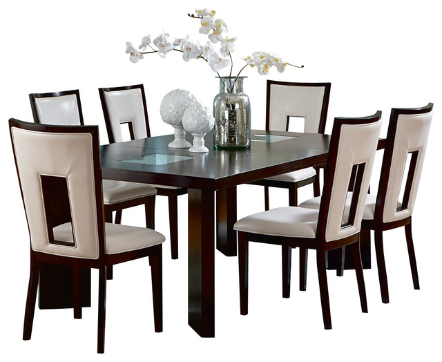 Steve Silver Delano 7 Piece Dining Room Set With Leaf