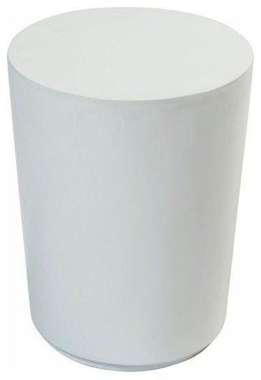 ... Round Lacquered Side Table In White 2 Available 180 Est Retail 60 ...