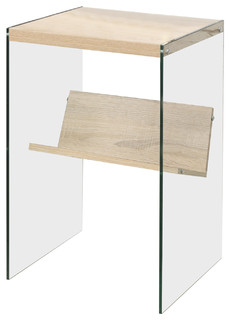 Gaia Modern End Table   Contemporary   Side Tables And End Tables   By  Convenience Concepts