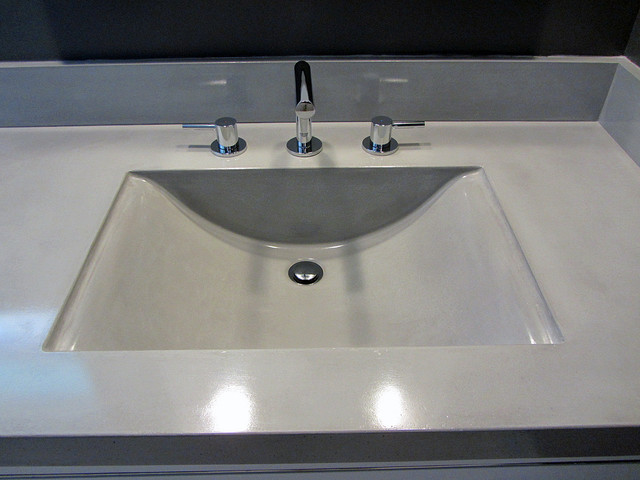 bathroom sink backsplash bathroom sink countertop and backsplashes contemporary 11276
