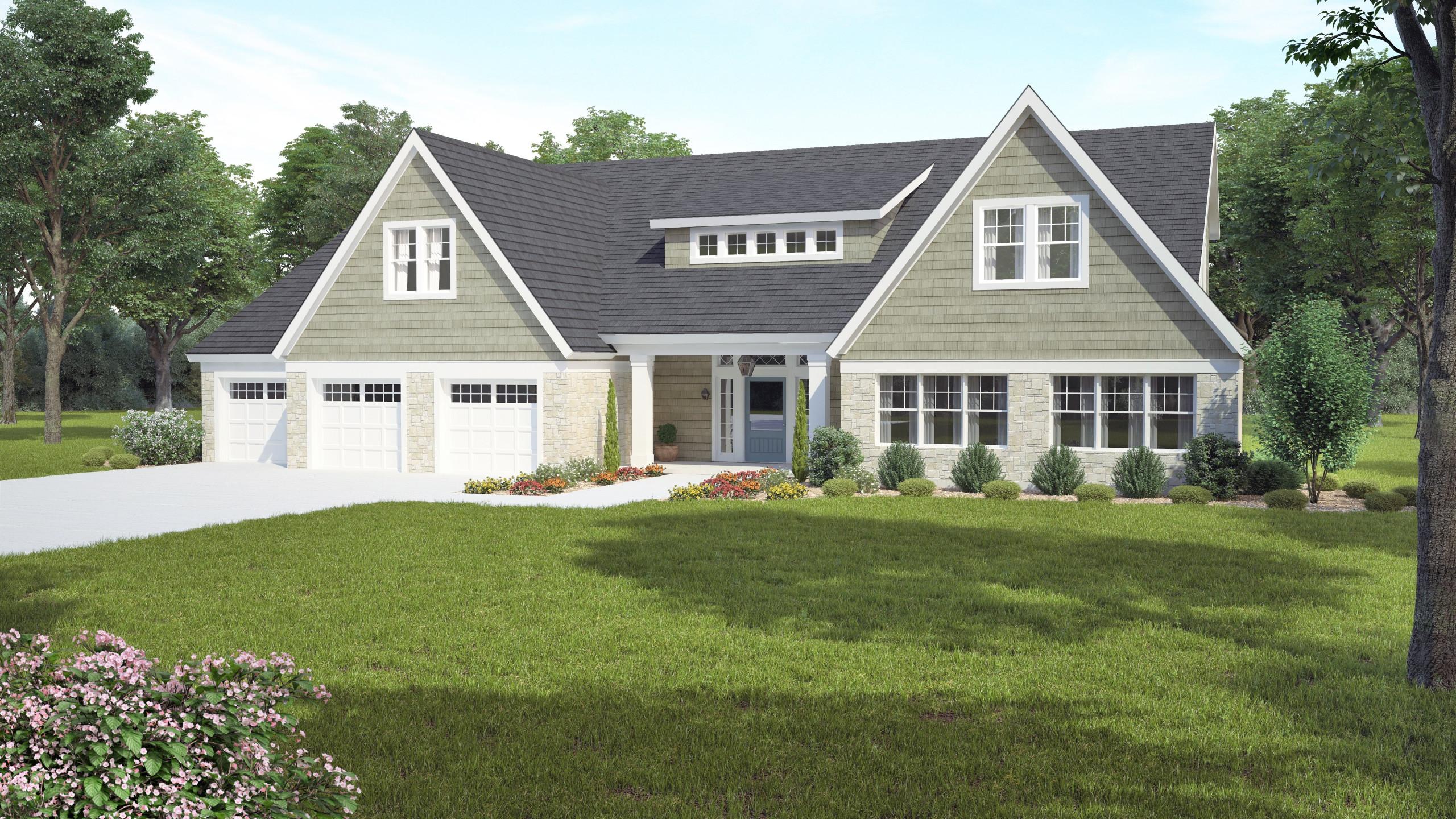 American Shingle Style Custom Home