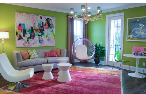 A Fun Residential Playroom Design By Beasley Henley Interior Design