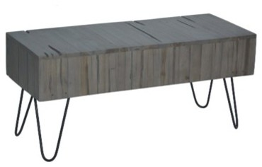 Regina Rustic Farmhouse Bench