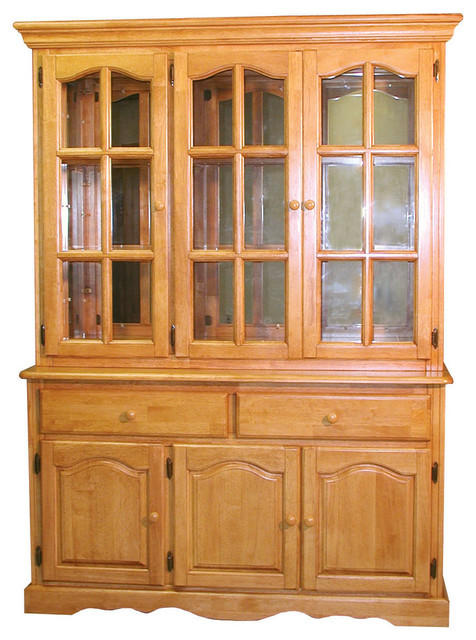 Sunset Trading Treasure Buffet And Lighted Hutch Light
