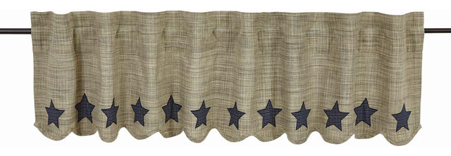 Vincent 16x72 Scalloped Valance.