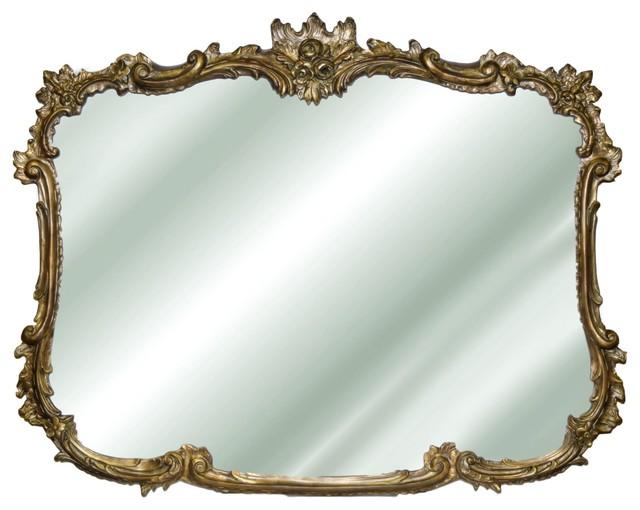 Finest Splendor Wall Mirror - Victorian - Wall Mirrors - by Benjamin Rugs  KQ81