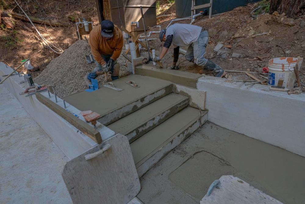 Tutor Garage Under Construction