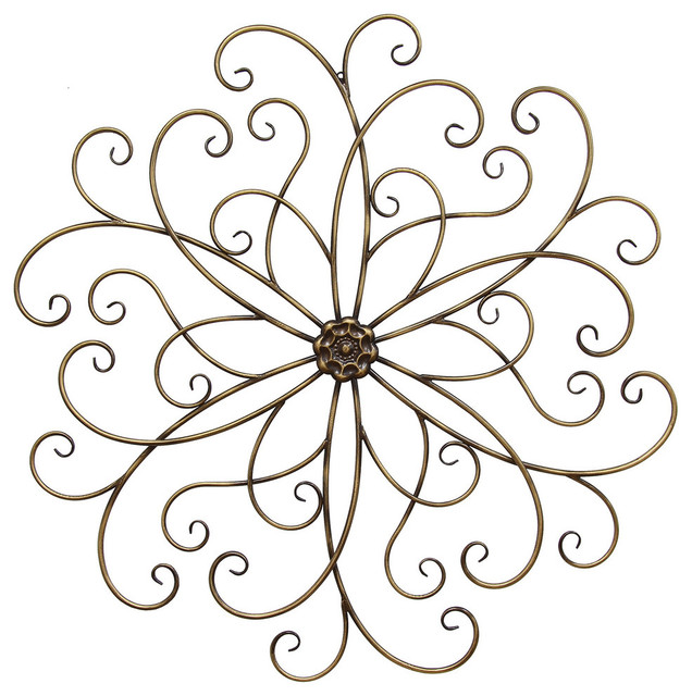 Stratton Home Decor Classic Medallion Wall Decor.