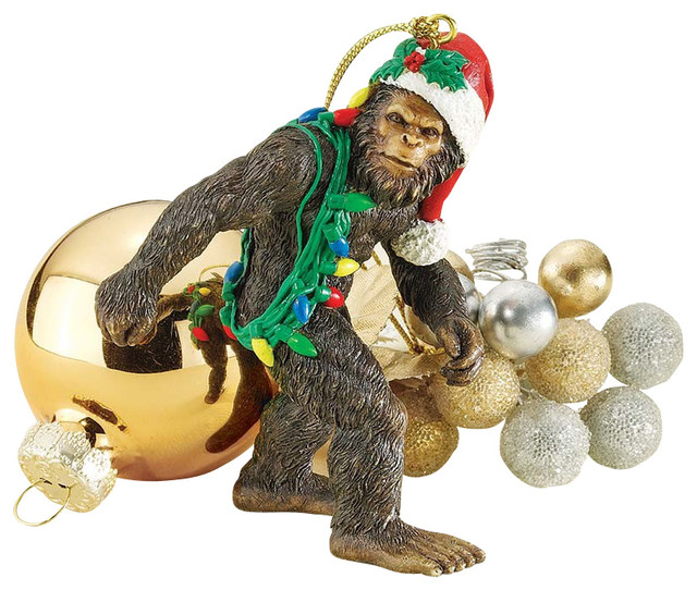 Bigfoot The Holiday Yeti Ornament.
