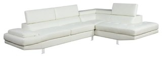 Milan Bonded Leather Sectional