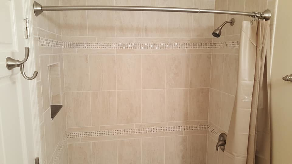 Shower finished