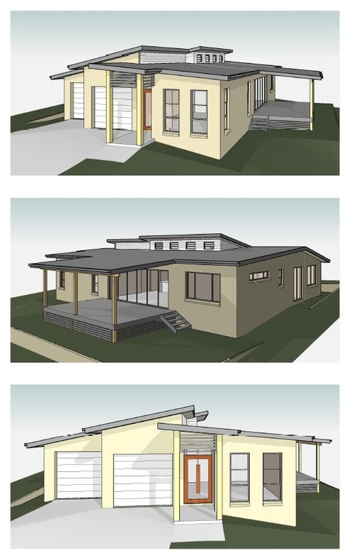 New build roof exterior colours help for Help building a house