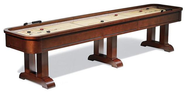 Milan Shuffleboard Table By American Heritage Billiards