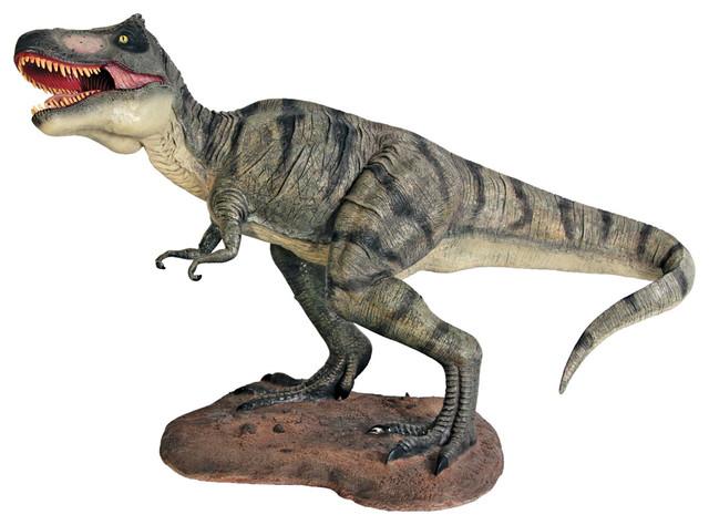 Scaled Tyrannosaurus Rex Statue