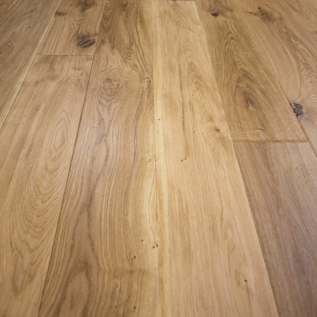 French Oak Prefinished Engineered Wood Floor Natural