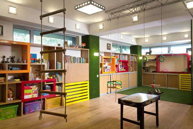 Home 2000m2 eclectic-kids