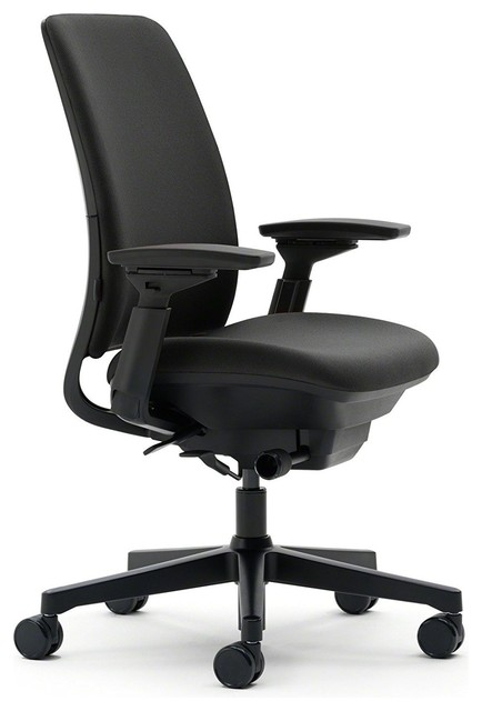 Steelcase Amia Chair, Black Fabric.