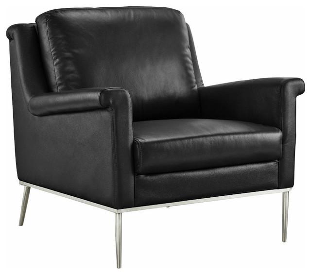 Terrific Classic Leather Match Armchair Accent Chair Gold Metal Frame Legs Black Cjindustries Chair Design For Home Cjindustriesco