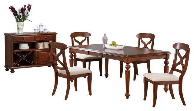 Chichester 6-Piece Dining Set With Butterfly Leaf.