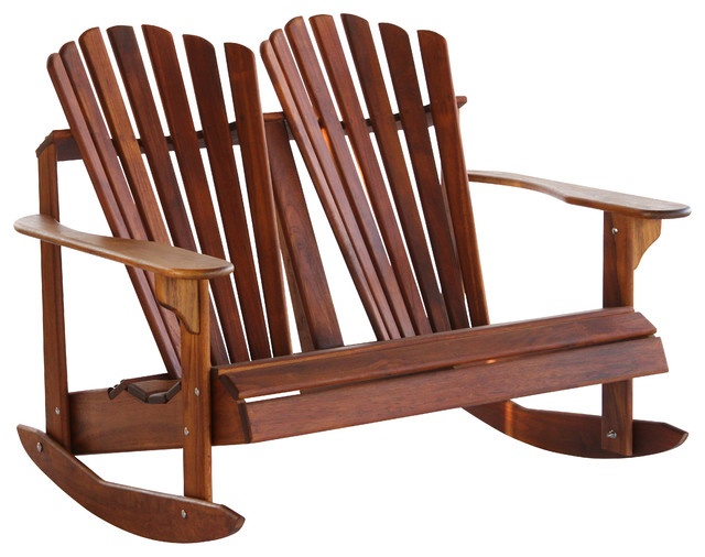 Ordinaire Double Back Adirondack Double Rocker