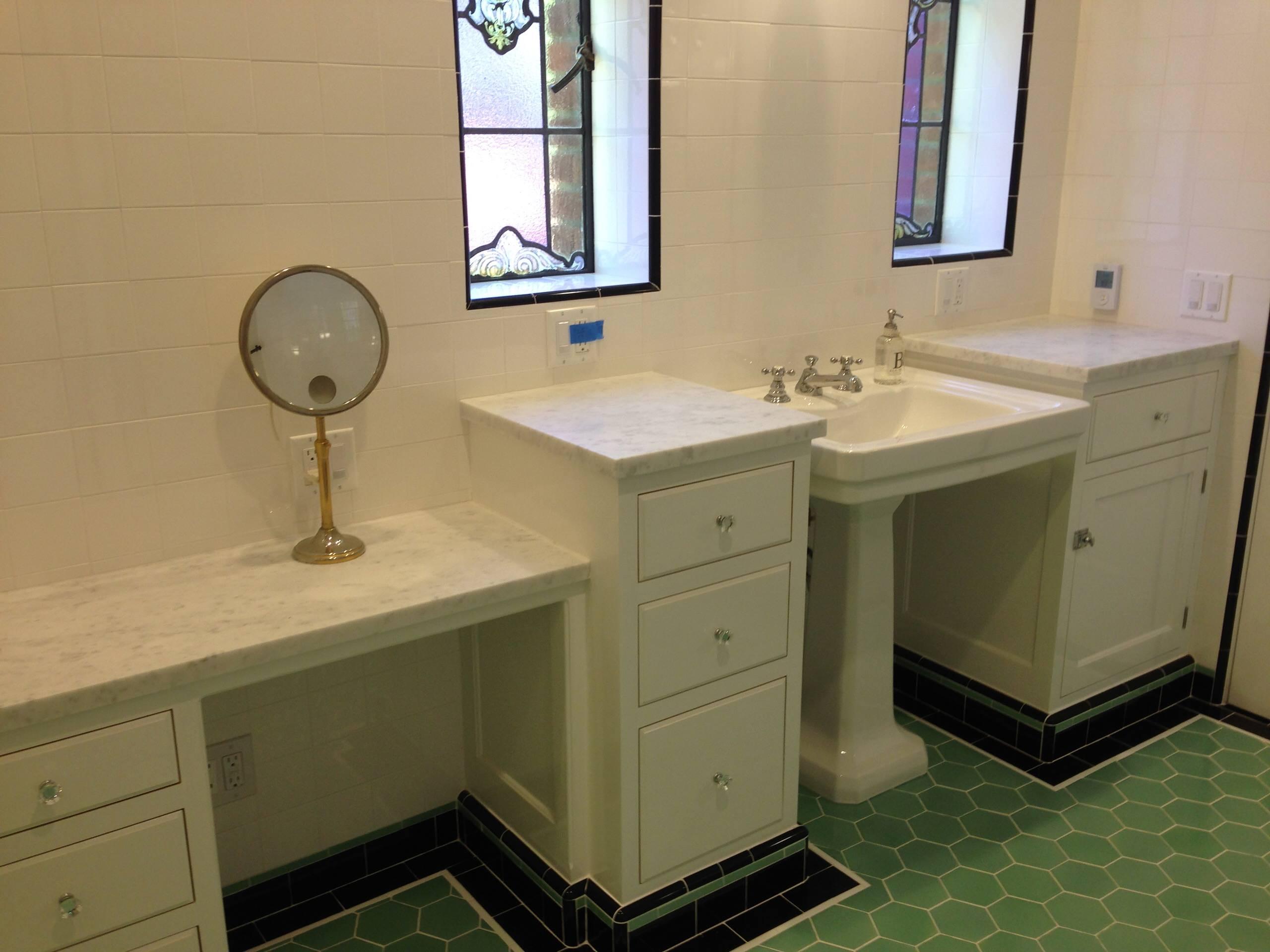 Beverly Hills Historic Home Master Bathroom