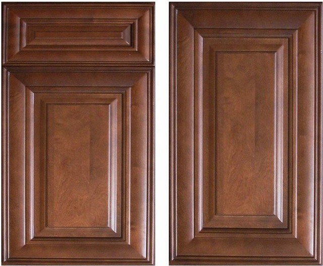 Chocolate Glaze Kitchen Cabinets Home Design - Traditional - Columbus - by Lily Ann Cabinets