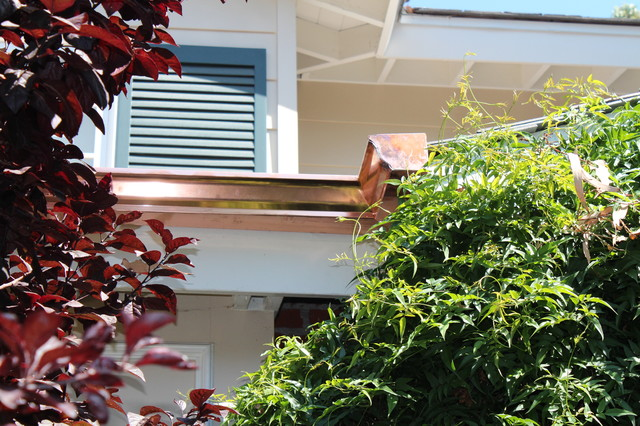 Seamless Copper Rain Gutters in Los Angeles - Los Angeles ...
