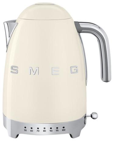 Smeg Retro 50's Variable Temperature Kettle, Cream