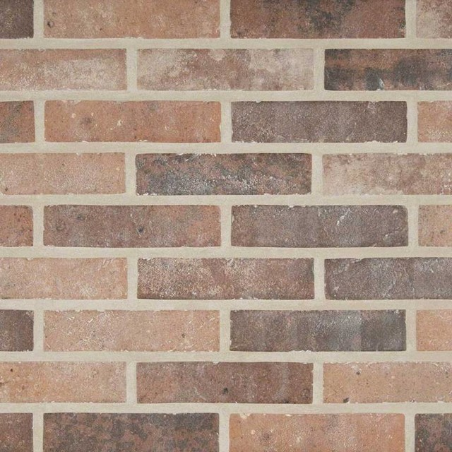 Capella Red Brick 2 X10 Traditional Wall And Floor