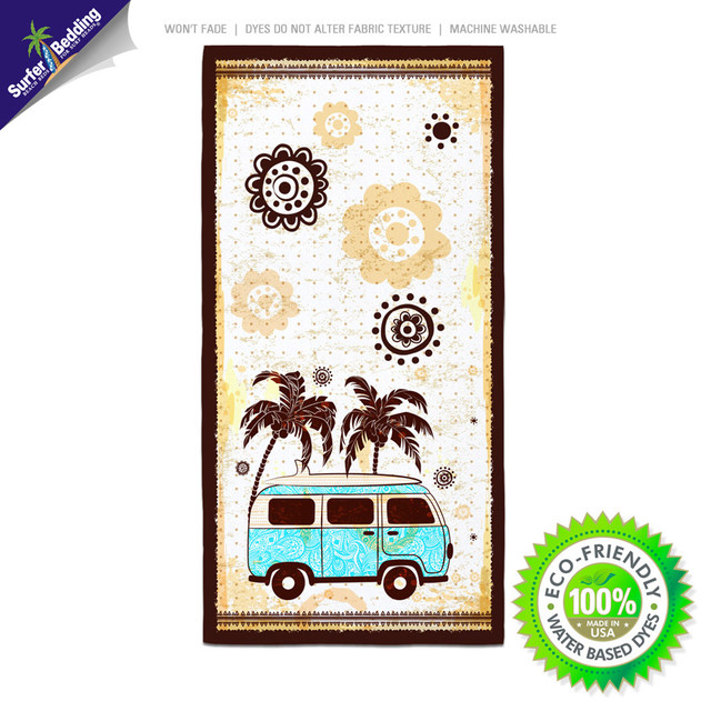 2014 Quot Surf Bus Quot Surfer Bedding And Bath Collection