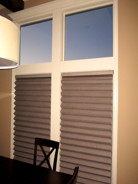 Cellular Shades Pleated Shades And Combination Shades