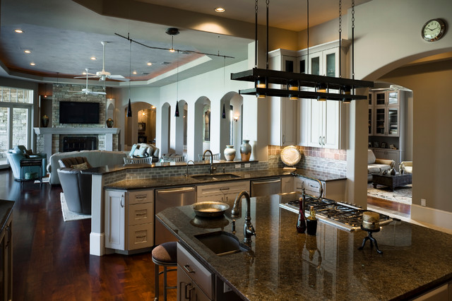 Eclectic Lake House Traditional Kitchen Austin By Pillar Custom Homes Inc