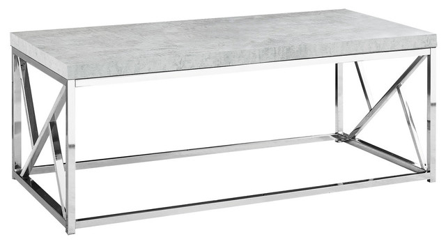 Bateman Coffee Table, Faux Cement