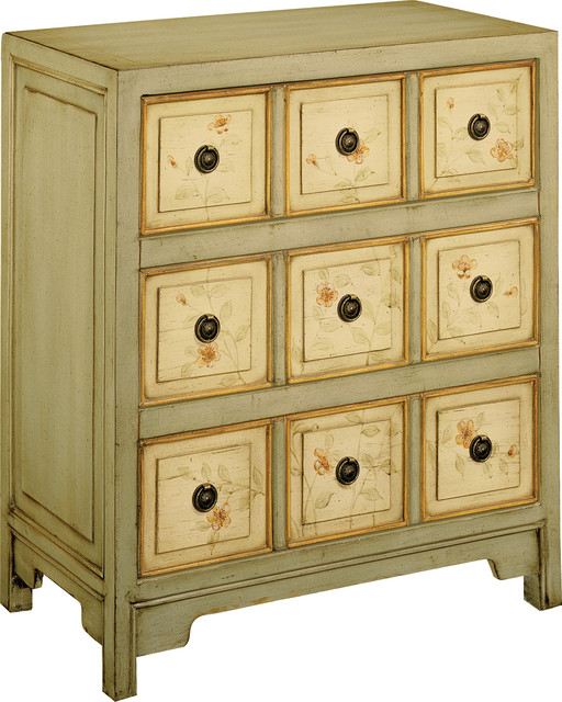 Apothecary Style Three Drawer Accent Chest, 11312.