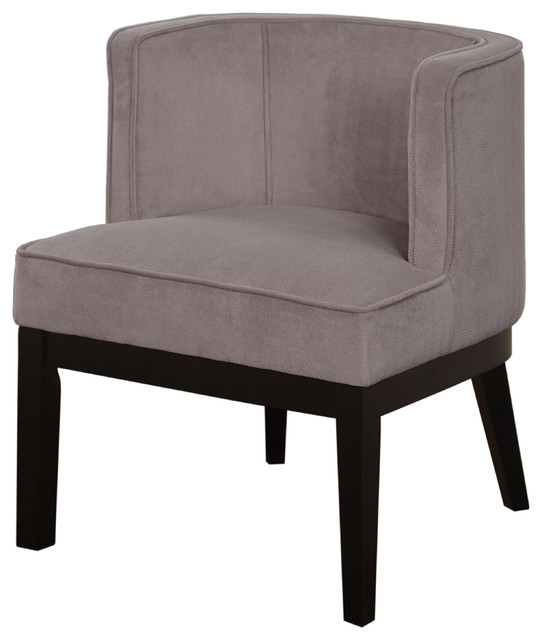 Meredith Accent Chair,Gray by TMS