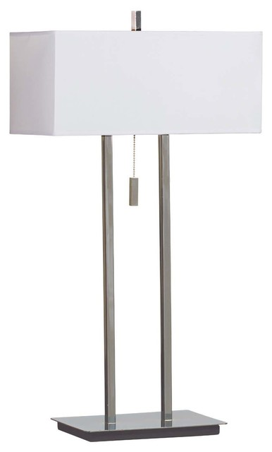 Emilio Table Lamp Bronze Finish Contemporary Table Lamps By