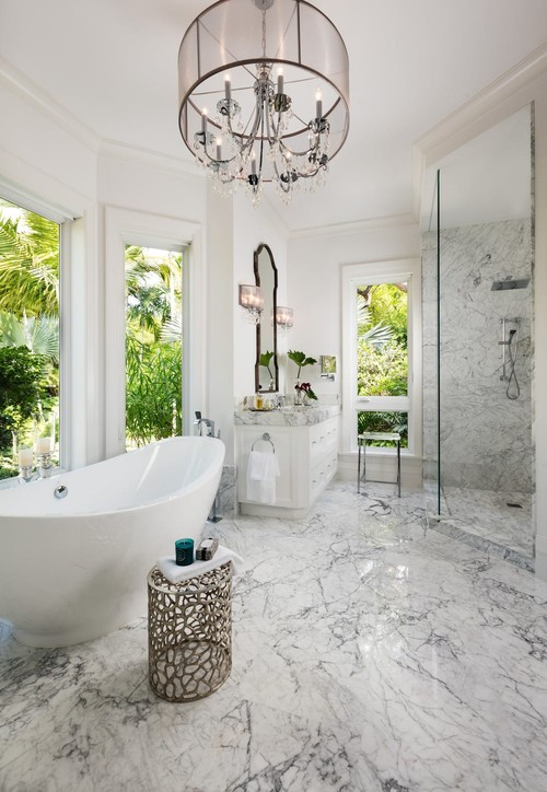 Merveilleux This Master Bath Expresses High Style Luxury. #chic #classic #design