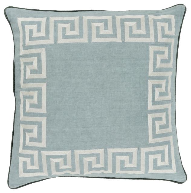 Key Pillow 18x18x4, Polyester Fill.