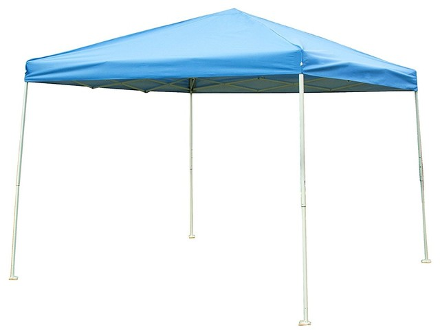 10\'x10\' Steel Frame Pop Up Patio Instant PU Coated Party Canopy ...