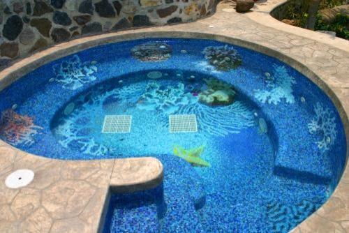 mosaic pool designs mexico modern