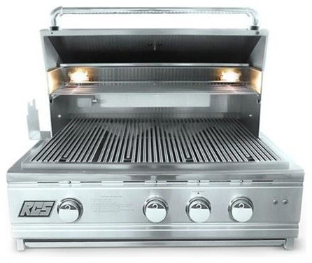 "Pro Series Stainless Steel 30"" Cutlass Grill With Blue Led, Liquid Propane."