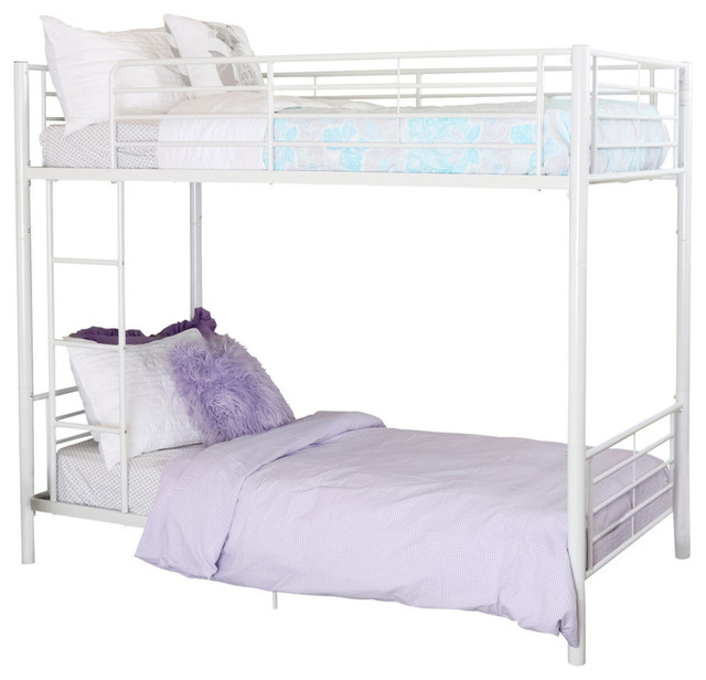 Twin Metal Bunk Bed Contemporary Bunk Beds By Walker Edison