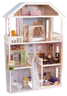 Kidkraft Inc New Savannah Dollhouse With Furniture Reviews Houzz
